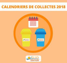 Calendriers de collectes 2018
